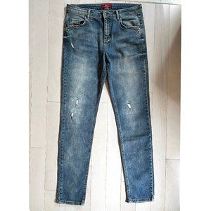 s.Oliver casual girlfriend distressed jeans, 29
